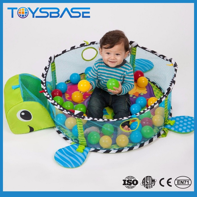 Custom Rubber Eco Friendly 3in1 Folding Blank Playmat Baby Gym Kids Playmat