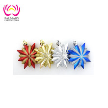 10cm Sixteen Pointed Star make it christmas ornaments, blank christmas ornament