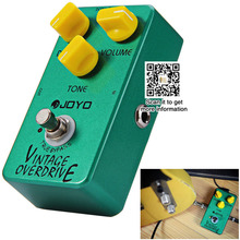 Vintage Overdrive code Electrical Guitar Effect Pedal best guitar effects pedal for beginners