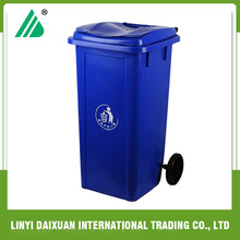 HOT! 120L outdoor street plastic cheap rubbish recycle bin code color for malaysia