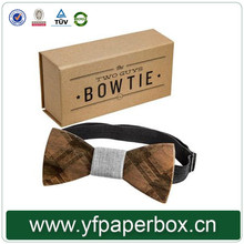 New products kraft paper bow tie packaging gift box
