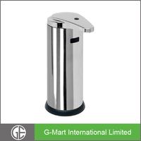 Wall Mounted 500ML Stainless Steel Bathroom & Kitchen Sensor Liquid Soap Dispenser