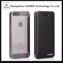 [XUNDD]For Apple iPhone 5s Multi Function Flip Card Holder Wallet Stand Phone Leather Case