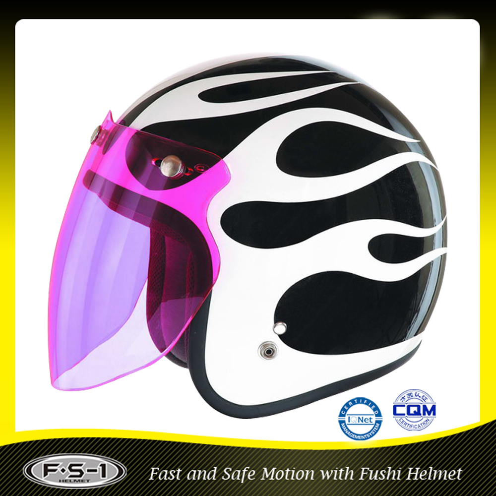 Milch Cow colored Cute kids safery plastic motorcycle helmet
