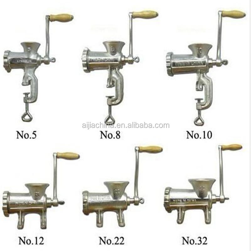 different types of manual meat mincer for sale