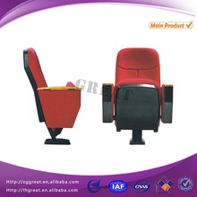 commercial theater chairs with single leg / commercial cinema seats / concert hall chair