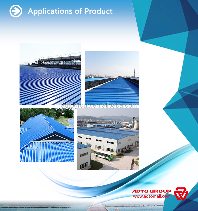 New Technology Pvc Roofing Shingles With 15 Years Long