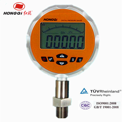 Bourdon and low high pressure digital manometer