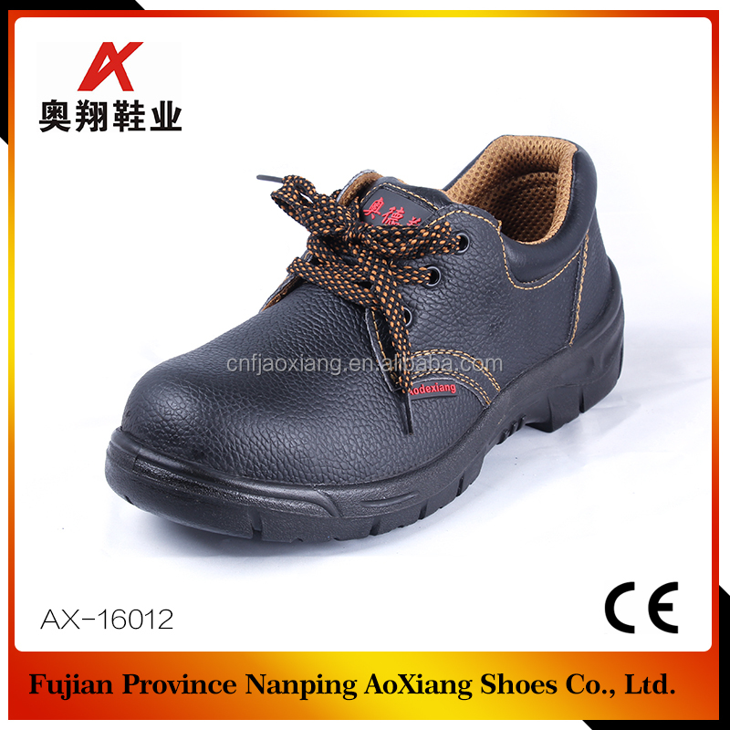 Factory outlet steel toe anti static safety shoes with oil resistant
