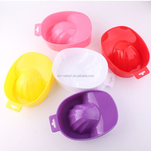 Fashion Style Nail Art Bowl Nail Art Plastic Bowl Manicure Finger Soak Bowl