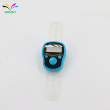 promotion gift white plastic retail finger tally counter