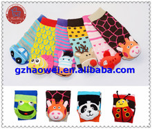 Lovely Colorful New Born Unisex Infant Baby Toy Rattle Socks
