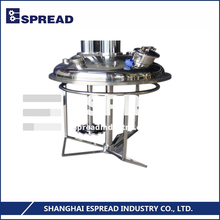 100% Tested ESFDL Series Safety Hydraulic Lifting System 2-Shaft Disperser Stirring Blending Machine Equipment