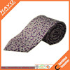 cool purple floral handmade ties silk printed