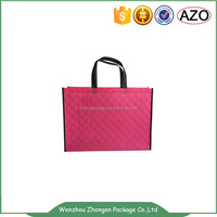 Hot sale recyclable non woven supermarket hand bag