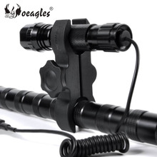 Patent Product 25mm/30mm Adjustable High Quality Plastic Hunting Scope Flashlight Mount