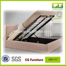 Double size fabric storage latest fabric bed for bedroom furniture