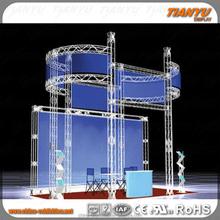 High quality aluminum truss trade show booth display