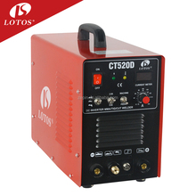 Lotos CT520D portable IGBT Inverter welder combo 220v argon arc 200 welding machine tool equipment
