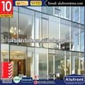 Aluminum Frame Glass Curtain Wall for Comercial