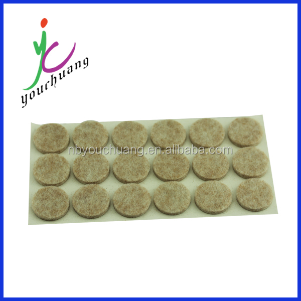 2015 Best selling products glass protection cork pads