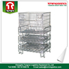 Foldable high quality storage metal cage panels