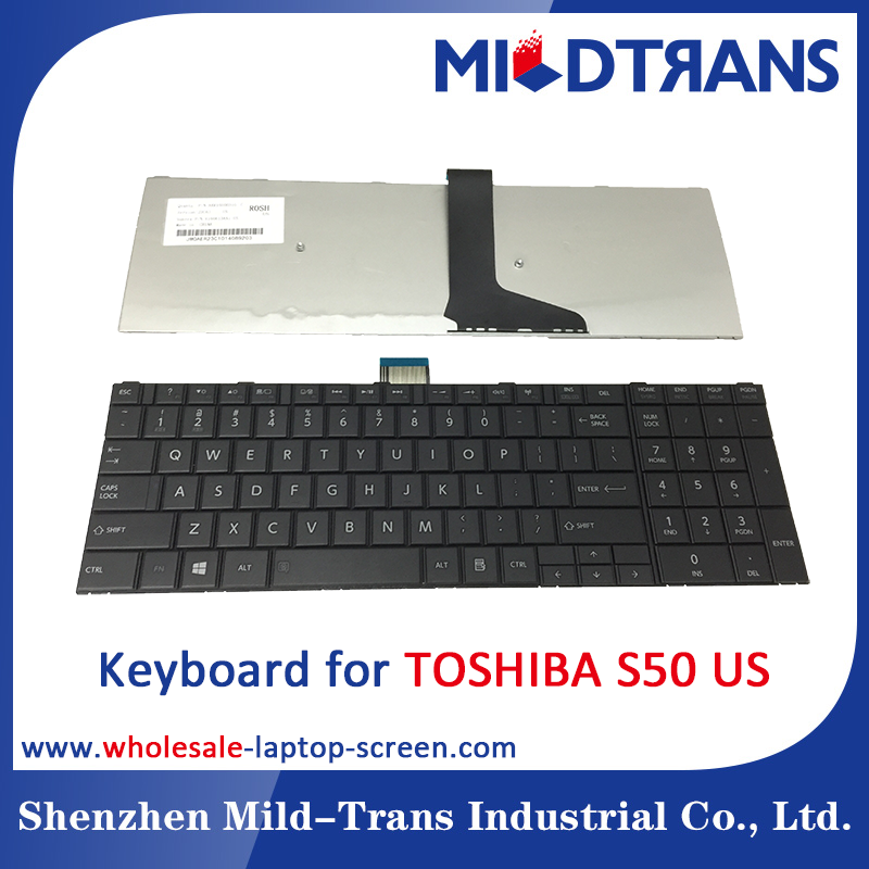 Notebook Internal Keyboard for Toshiba S50 US language layout