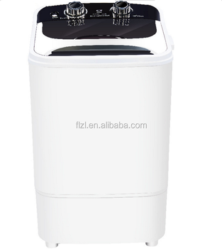 Small protable single-tub mini washing machine with dryer