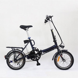 Hot selling 7 speed 20inch mini folding electric e bike bicycle made in china guangdong