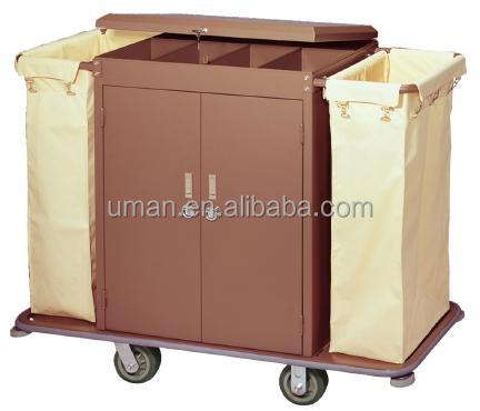 Laundry trolley housekeeping carts