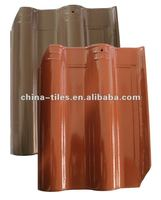 2012 hot sale stone Chinese colorful ceramic roofing tiles