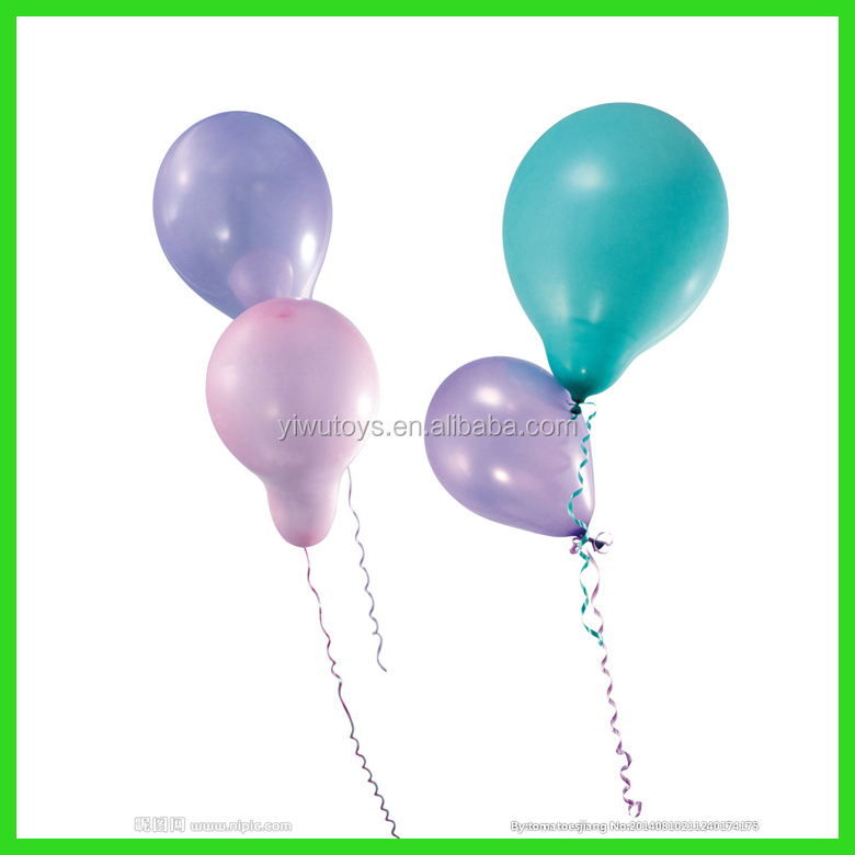 Factory colorful latex pearl metalized balloon