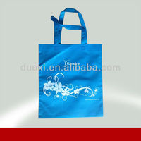 Promotion non woven reusable breath freely fish shopping bag 100% manufacturer