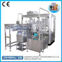 Automatic stand up zipper bag packing machine/stand up pounch packing machine