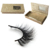 False eyelash packaging 3d silk lash strips siberian mink fur 3d lashes private label eyelash packaging