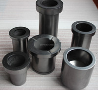 Dia200*165 high purity high quality graphite crucible