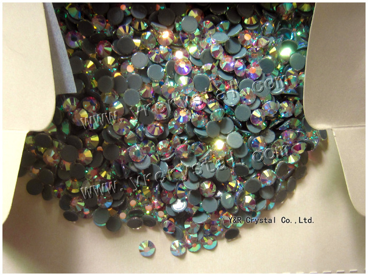 1440pcs SS16 SS20 About 4mm Iron on Hot Fix Crystal Rhinestones Diamond Gems Wholesale (clear AB)