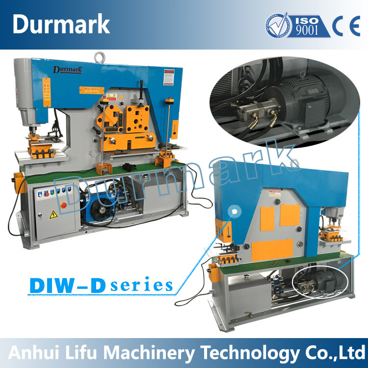 Q35Y Working Hydraulic Ironwork machinery steel hydraulic press machine for door embossing / steel door press