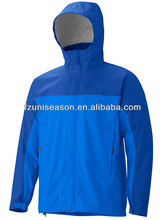 Waterproof nylon lightweight windbreaker jacket 100 polyester