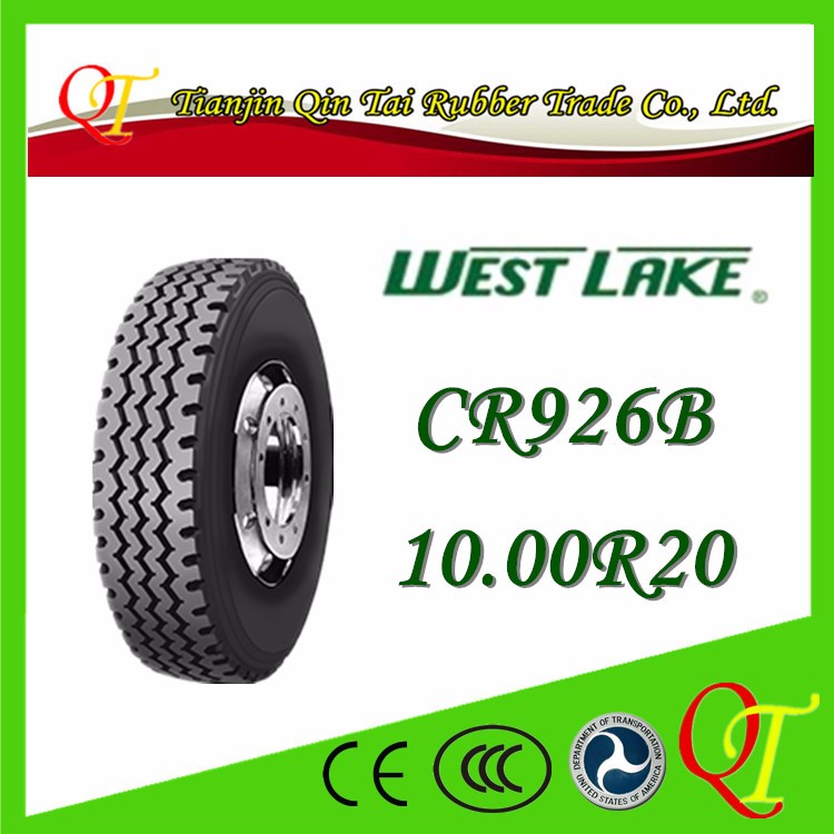 Environmental protection, comfortable medium and high grade compression 10.00R20-16all steel truck and bus radial tyres