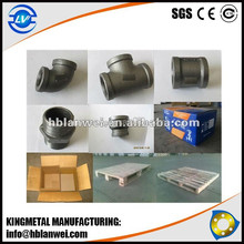Iron pipe fitting malleable Iron Cap/Nipple/plug/Union manufacturer
