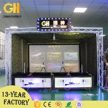 Simulation shooting kids game soft indoor outdoor amusement play equipment