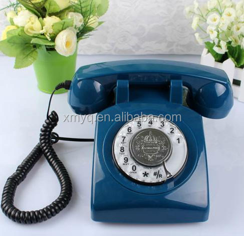 old fashioned corded phones Rotary Dial Telephones