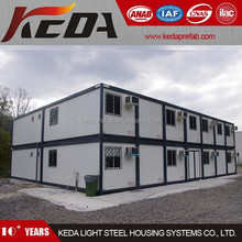 Construction Site Office Building Modular Prefabricated Container House