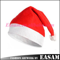 Best selling fancy christmas santa hat/dancing santa hat