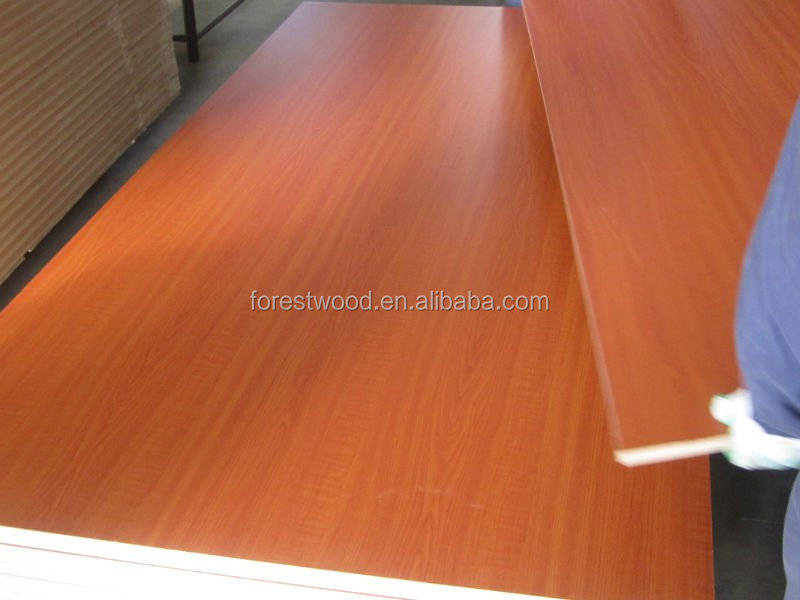 Best price melamine MDF board for Africa buyers