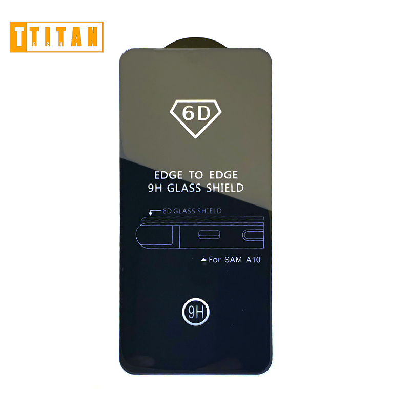 6D tempered glass full cover mobile phone screen protector for samsung note <strong>10</strong> <strong>pro</strong> for vivo v11 <strong>pro</strong>