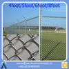 Galvanized Angle Iron Post Chain Link Wire Mesh Fence/ Chainlink and Weld mesh / cyclone fence