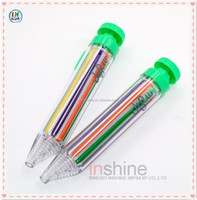 8 Color Twistable Crayons , twistable crayons conform to ASTM D-4236 EN71