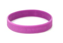 A variety of different colors of silicone water bracelet silicone rubber bracelet cheap custom silicone bracelet